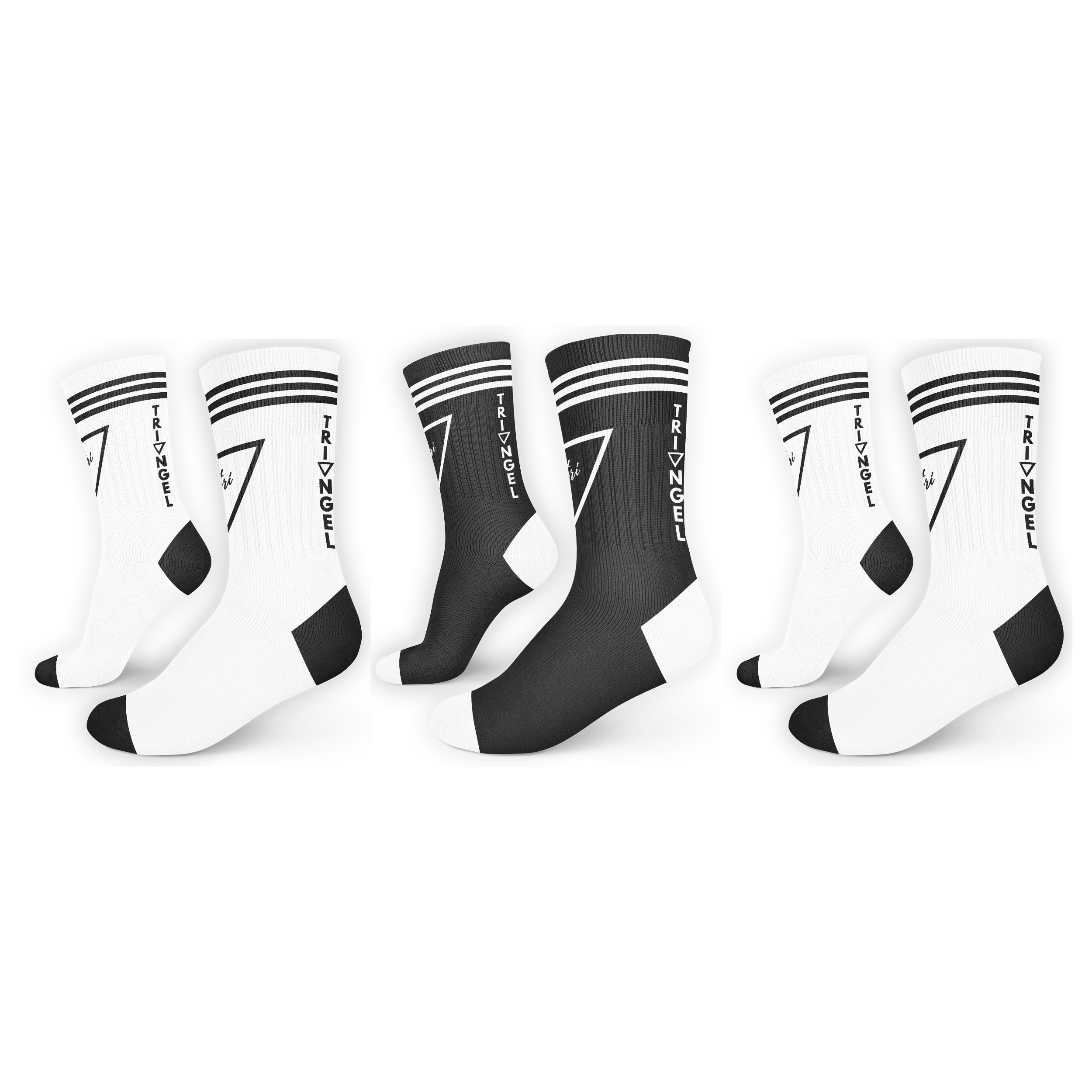 3pack City Socks